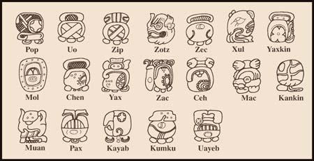 Calendario Maya - Centro de Estudios del Mundo Maya - YUCATAN, MEXICO